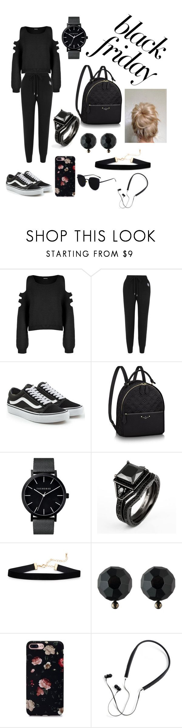 """black Friday"" by gabiethao ❤ liked on Polyvore featuring WearAll, Markus Lupfer, Vans, Ralph Lauren and Polaroid"
