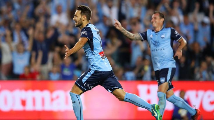 Sydney FC's Milos Ninkovic delighted with goal of the year contender