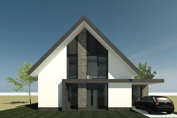 Nieuwbouwwoning Bornsche Maten | Ontwerp van AL architecten BNA voor een nieuw te bouwen vrijstaande woning in Plan Bornsche Maten, Borne.