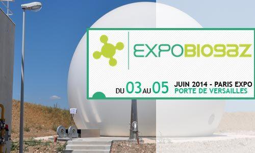 #ExpoBiogaz #2014 - Le #Salon de toute la filière #biogaz - ExpoBiogaz se tiendra du 3 au 5 juin 2014 à Paris