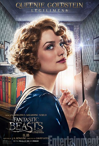 Alison Sudol as Queen Goldstein #FantasticBeasts