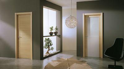 Consigli per la casa e l' arredamento: Le porte in rovere sbiancato: come abbinarle a pavimenti, pareti, arredamento e infissi