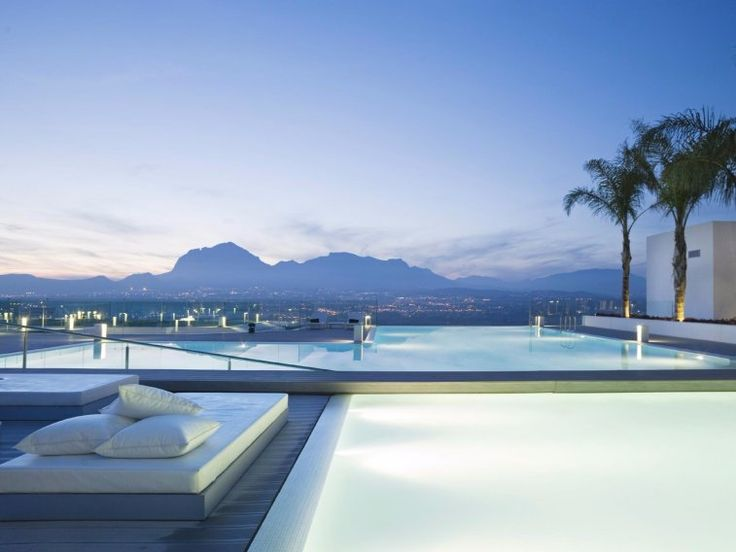 There are a total of five buildings and 93 suites that make up the SHA Wellness Clinic in the port city of Alicante, which sits on the southeastern coast of Costa Blanca in Spain. There are waterfalls, gardens, terraces, a putting green and tennis court, and a peaceful infinity pool that overlooks the city and its mountains.