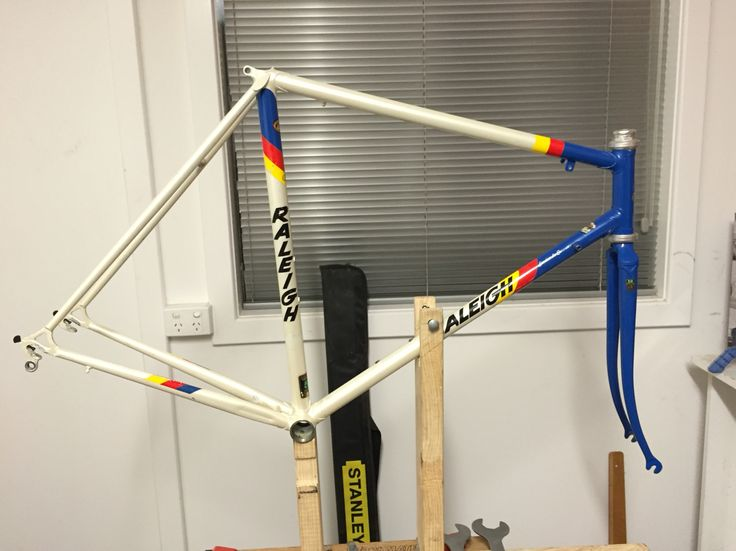 First step - Headset (Edco Competition) and forks in