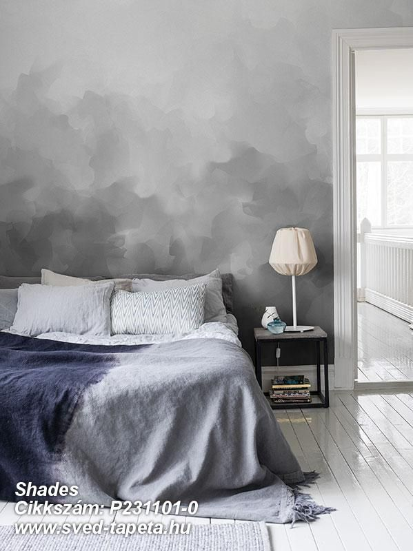 Smooth illusions that give the room a soft ambience from floor to ceiling. ☞ #wall #decor #wallpaper #design #tapeta #foto #poster