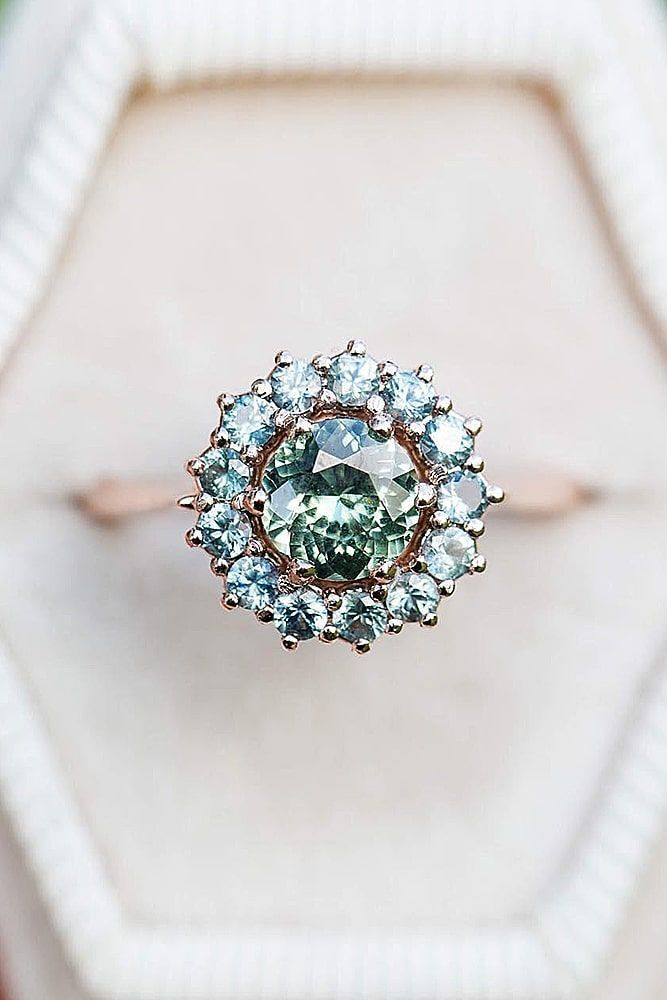 30 halo engagement rings or how to get more bling – #beautiful #