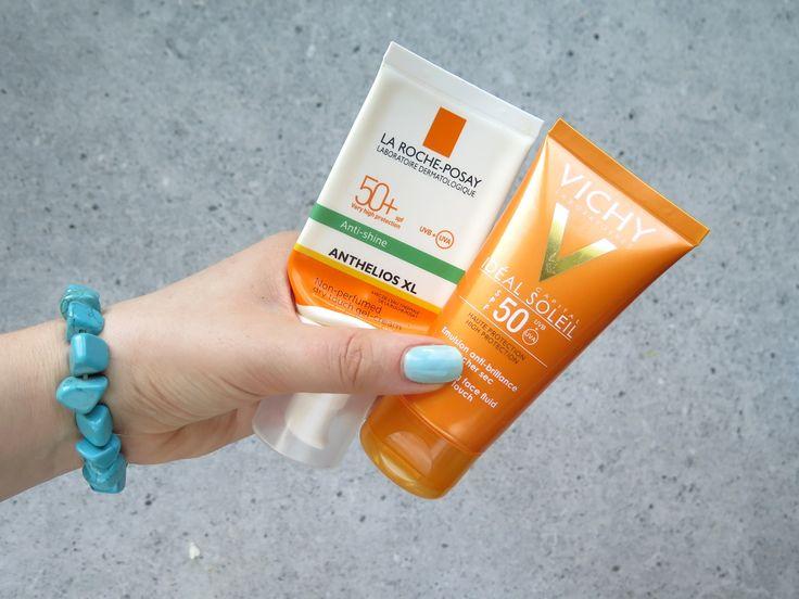 Najlepsze kosmetyki z filtrem na lato - matujący krem do twarzy, balsam do ciała oraz pomadki ochronne | paulinaweiher.pl