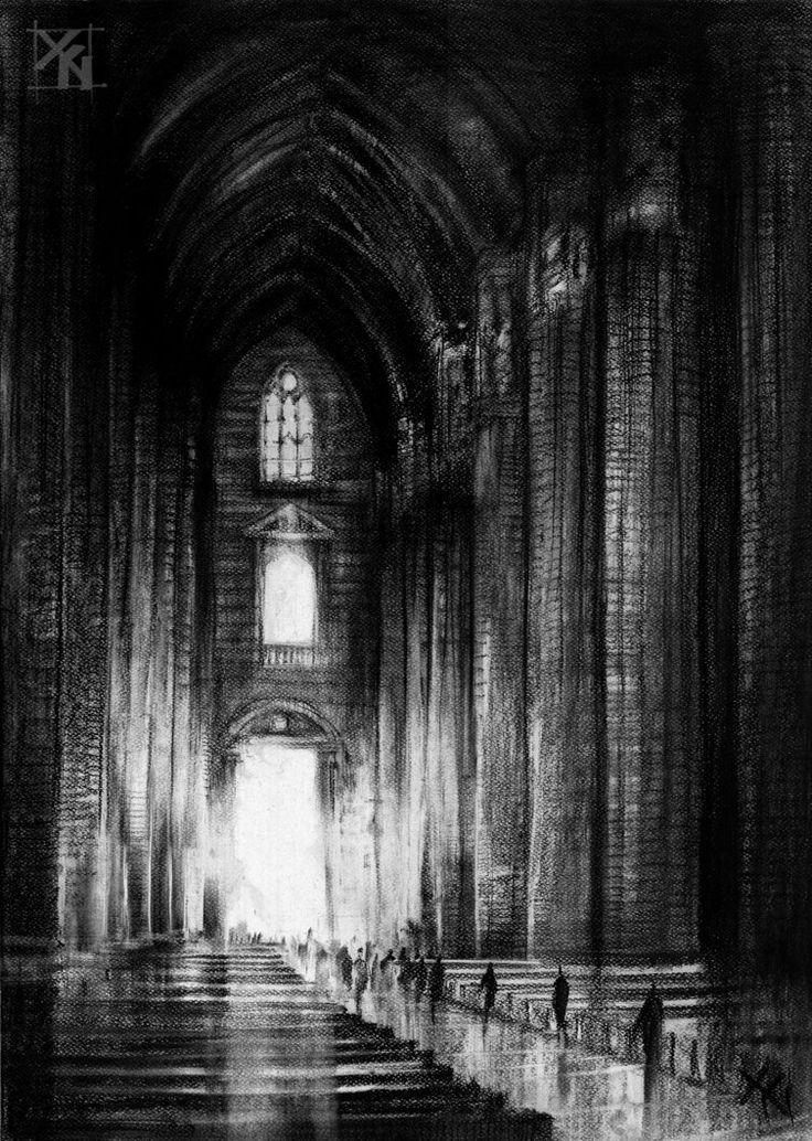 Cathedral in Milan by Marek-Bilinski on DeviantArt