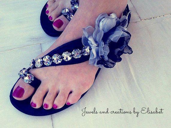 Leather sandals by JewelsbyElisabet on Etsy, $150.00  #leathersandals