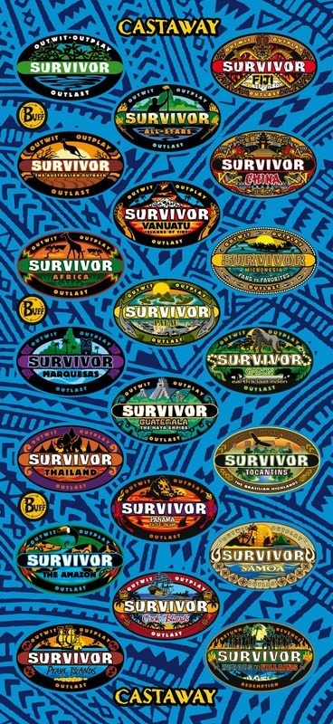 Survivor 10th Anniversary Edition-Blue