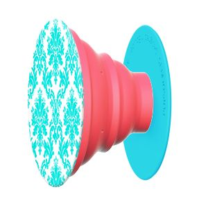 Loving the Lace pop socket in peach and spring blue $12.99