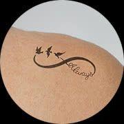 Small Infinity Tattoo Design: Upper Shoulder
