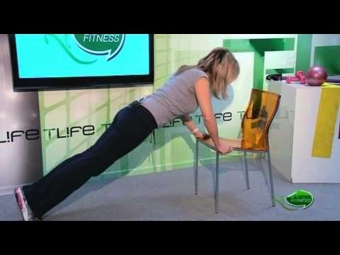 Tlife.gr - Γύμνασε όλο το σώμα, με μία μόνο καρέκλα! - YouTube