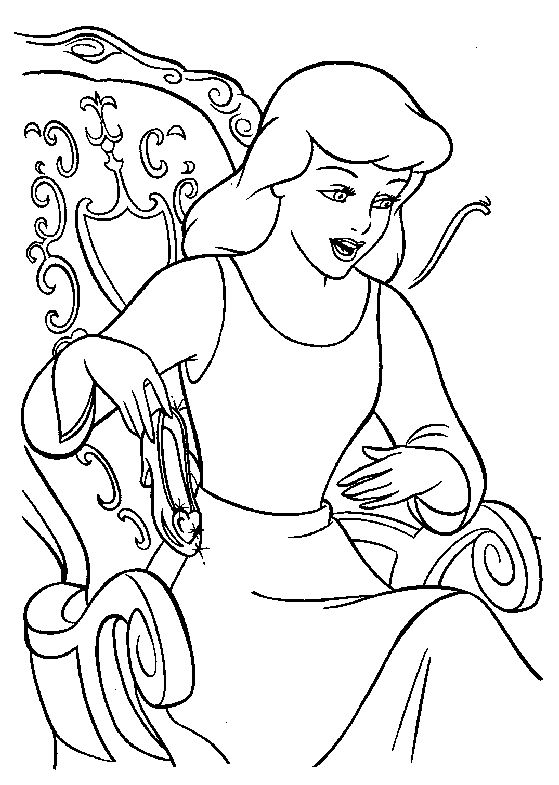 disney colouring picture 485