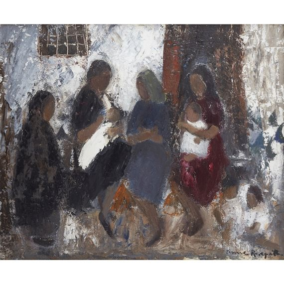 Edgar Freiburg Oil Painting