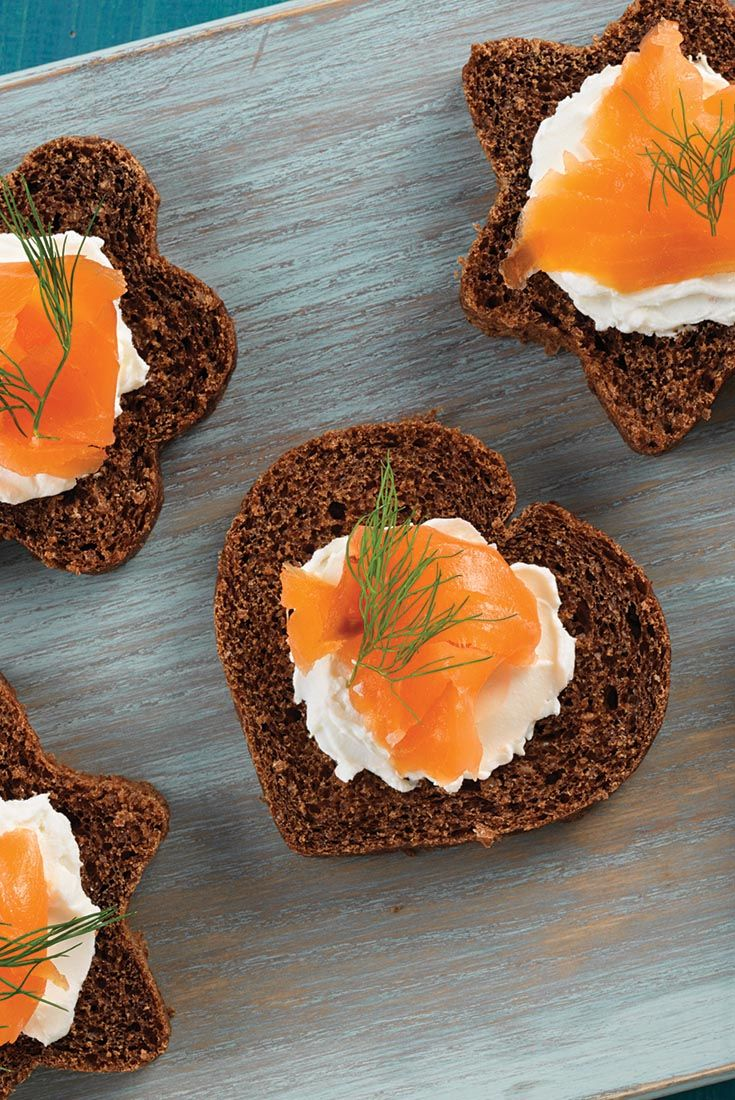 100 pumpernickel bread recipes on pinterest bread for Gluten free canape ideas