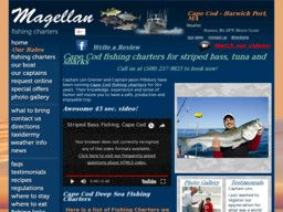 New listing in Fishing Guides and Charters added to CMac.ws. Adventure with Magellan Deep Sea Fishing Charters in Harwich Port, MA - http://fishing-guides-and-charters.cmac.ws/adventure-with-magellan-deep-sea-fishing-charters/1830/