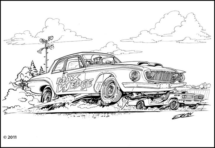 lowrider coloring pages - 1000 images about lowrider and other cars to color on