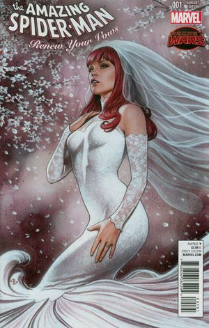 THE LAST SPIDER-MAN STORY!! Not even The Amazing Spider-Man is safe from Secret Wars! In this new Marvel Universe, Peter Parker, Mary Jane Watson and their daughter have to scrape by to make ends meet, but they have each other... Face front, True Believers. This is the one you've been asking for.