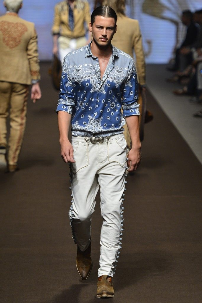 Etro Men's RTW Spring 2014 - Slideshow
