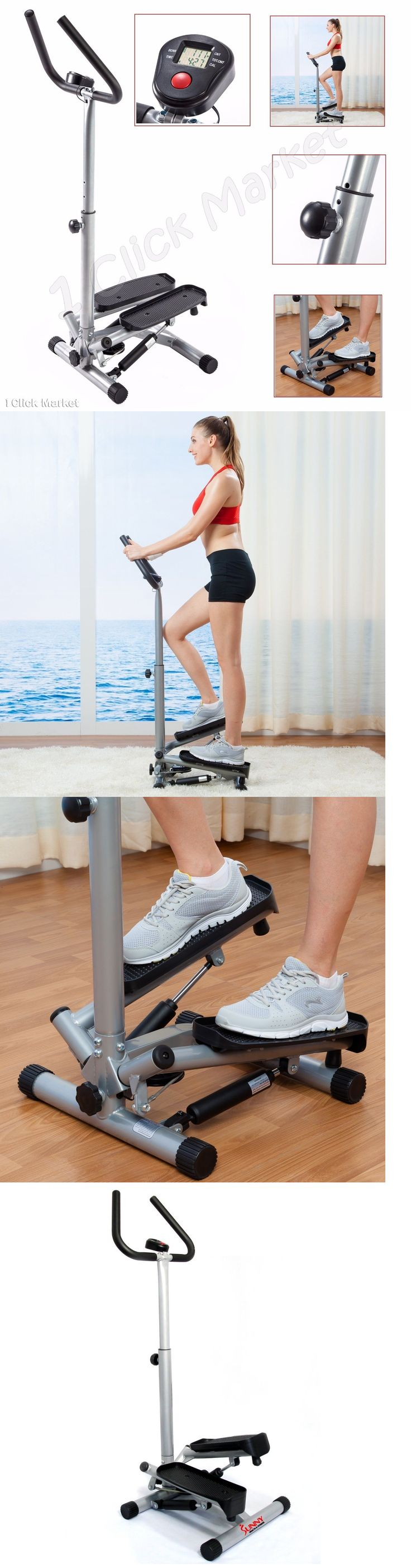 Stair Machines and Steppers 28062: Stair Stepper Climber Air Step Aerobic Fitness Cardio Workout Exercise Machine BUY IT NOW ONLY: $78.3
