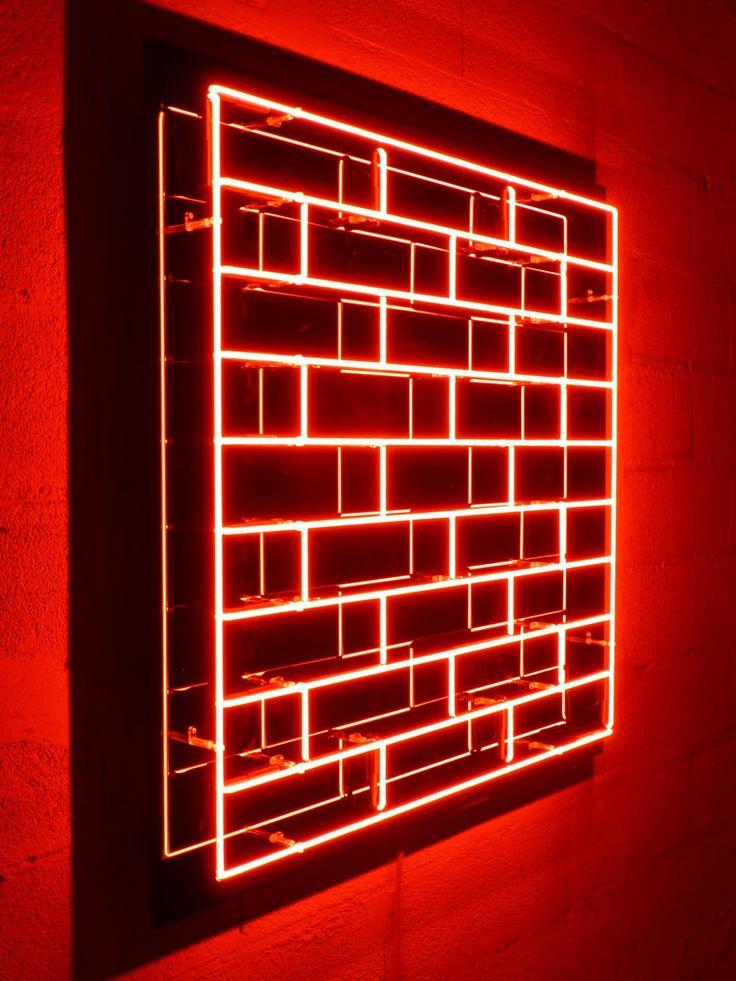 Neon sur plexiglas 100x100 Grenier/Batista | Art ...