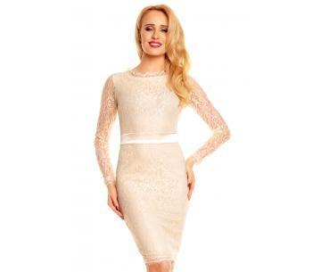 Zakelijk kanten jurk