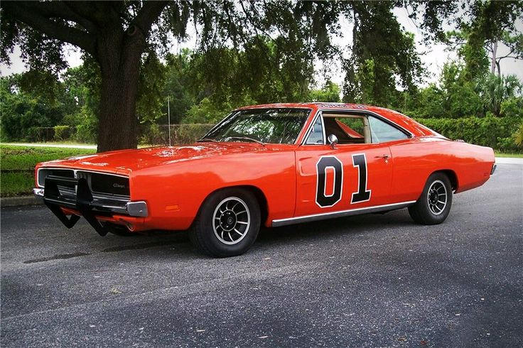 THE GENERAL LEE (Dukes of Hazard): I know. I know...the top of the car is...controversial. but you cannot deny how cool it is. The Dukes have used this car to speed around Hazard County, and to stay one step ahead of the law. The General Lee is fast, and the perfect vehicle for a speed demon.
