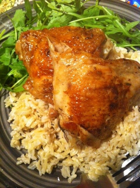 Mauritian Vanilla Rum Chicken & Coconut Rice all the best mauritian flavours