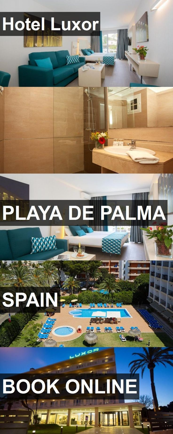 Hotel Luxor in Playa de Palma, Spain. For more information, photos, reviews and best prices please follow the link. #Spain #PlayadePalma #travel #vacation #hotel