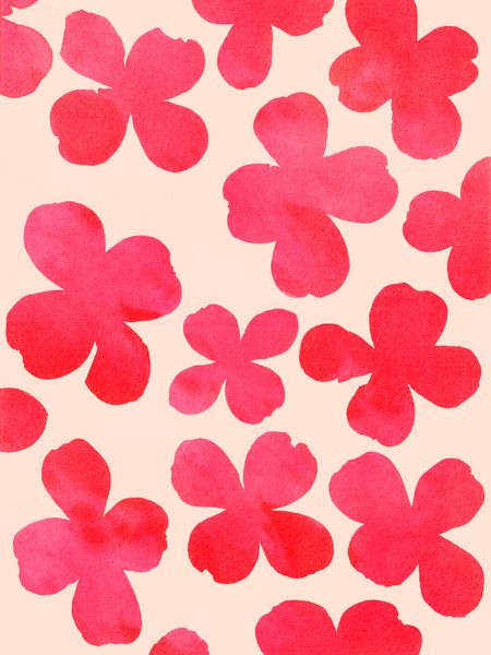 Dogwood_Pink - Art Print by Garima Dhawan