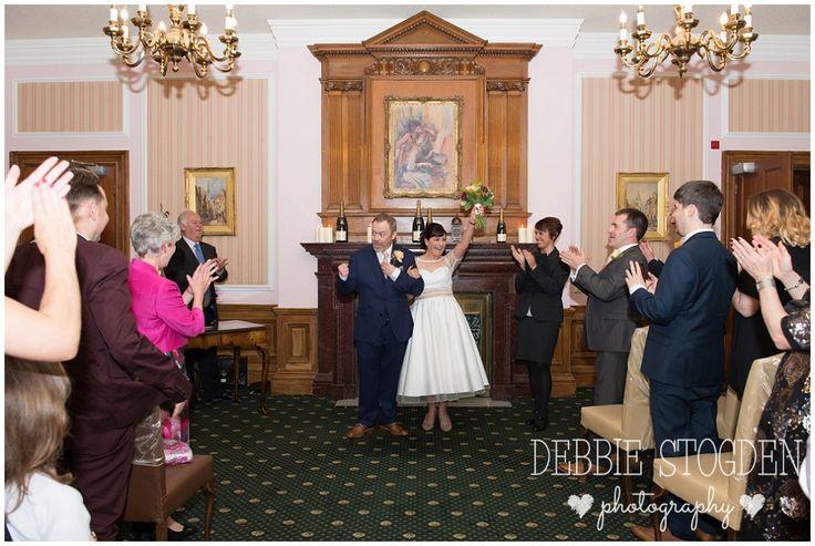 Married! Jackie and John at #JudgesHotel #Wedding #Kirlevington