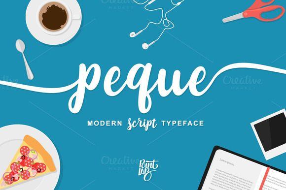 peque script by pointlab on @creativemarket