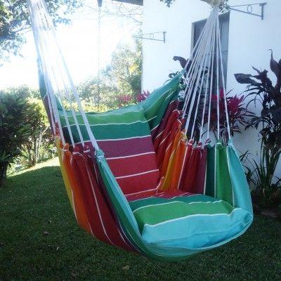 hangende stoel Miami XL voor veel lounge comfort. Bestel uw hangmat stoel bij Maranon. De hangstoel winkel van Nederland.