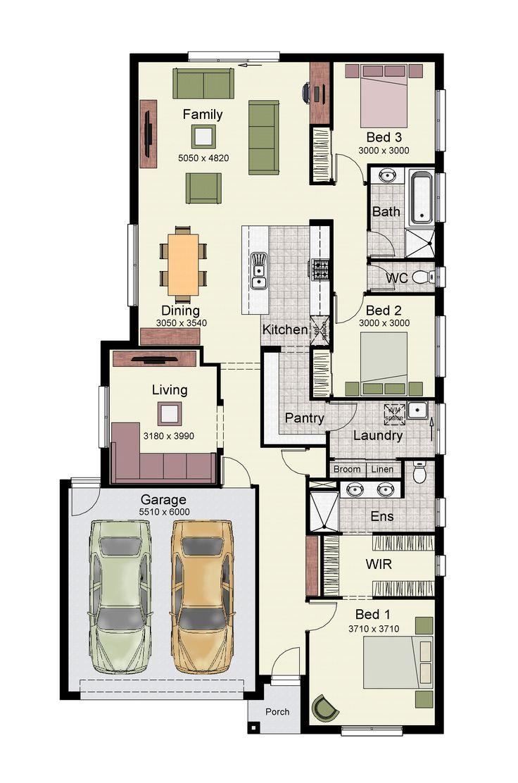 22 best australian floor plan images on pinterest double garage