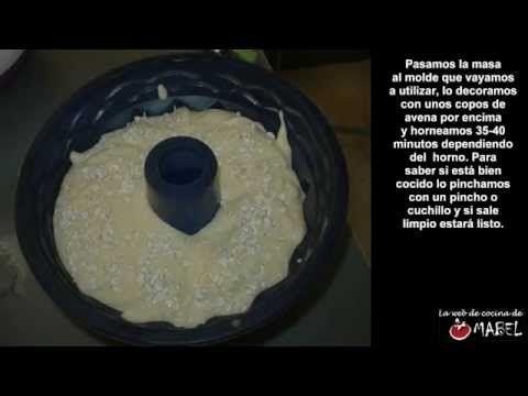Bizcocho de avena y yogur sin azúcar y sin grasas - La web de cocina de ...