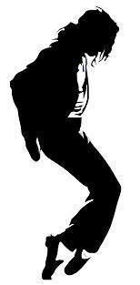 michael+jackson+silhouette | Michael Jackson Silhouette Wall Removable Decal