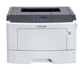 Lexmark Ms317dn Compact Laser Printer Monochrome