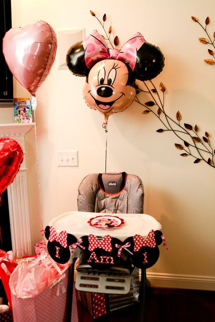 "Photo 2 of 24: Mickey & Minnie Mouse party / Birthday ""Tenley's 1st Birthday"" 