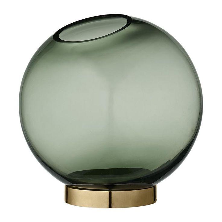 Discover the AYTM Medium Globe Vase - Forest