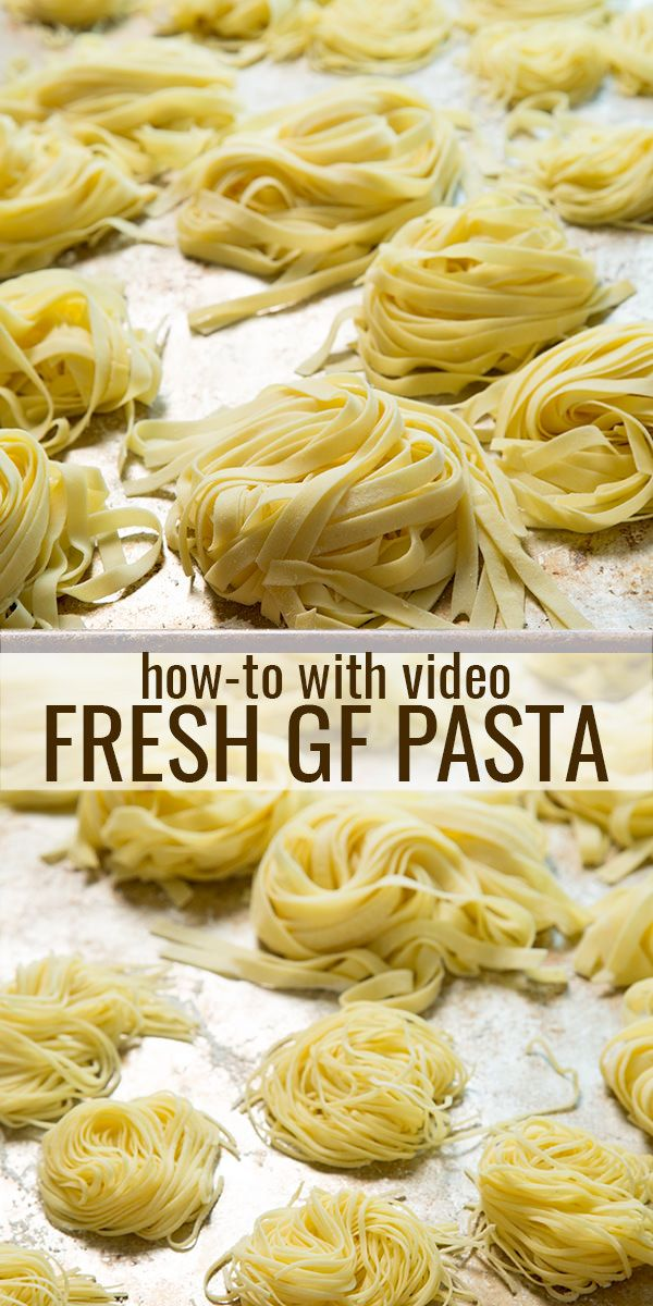Making fresh gluten free pasta at home is a labor of love. It's a simple process. All it takes is the right recipe  — and a little time. Find out exactly how to do it!