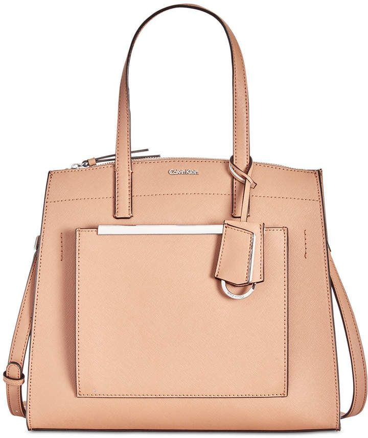9c2865e616c Calvin Klein Mara Leather Satchel...bags... | Bags in 2019 | Leather ...