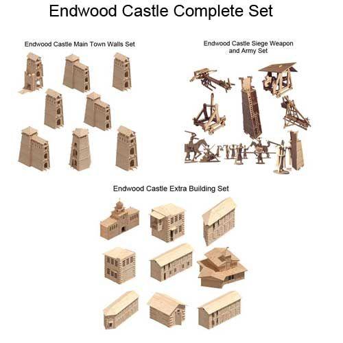 Endwood Castle Complete Set - Castles   MakeCNC.com