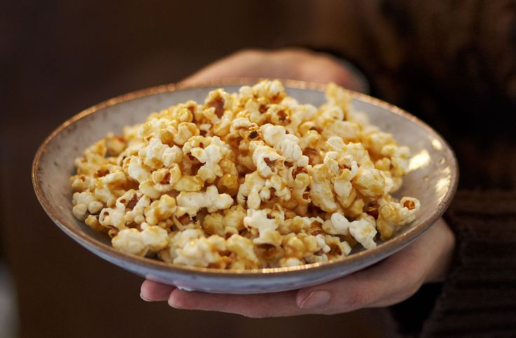 This sticky toffee butter popcorn is the ideal Bonfire night snack