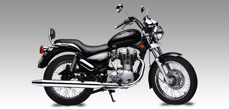 Royal Enfield thunderbird.......retrograde 80s styling!