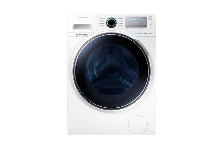 Samsung 10kg Front Loading Crystal Blue Washing Machine | Harvey Norman New…