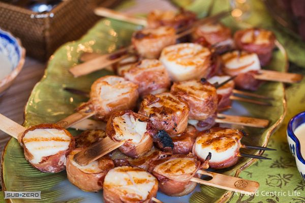 wrapped in prosciutto prosciutto wrapped greens bacon wrapped scallops ...