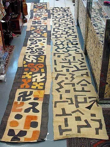 African Kuba Raffia Cloth | Applique patchwork | From the Democratic Republic of Congo (Zaire)