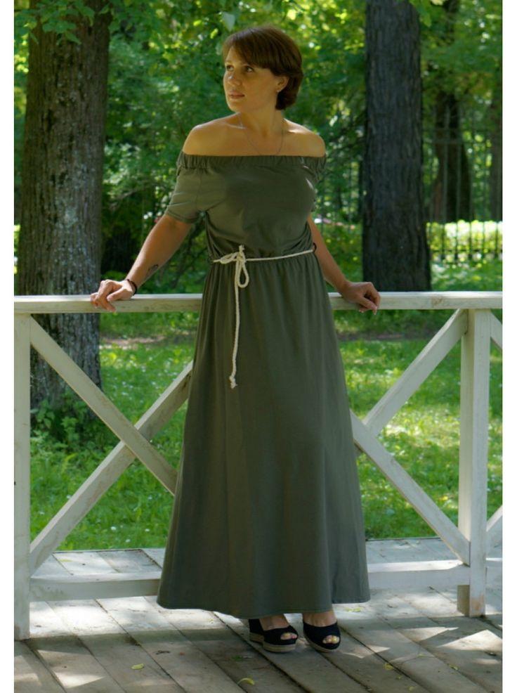 Платье (хаки)