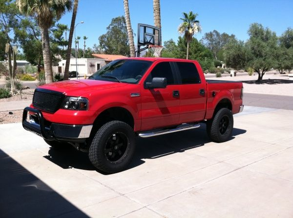 ford lifted trucks ford lifted trucks pinterest trucks lifted trucks and ford f series - Red Ford F150 Lifted